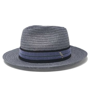 Cataldo Hemp Braid Drop Hat Grey