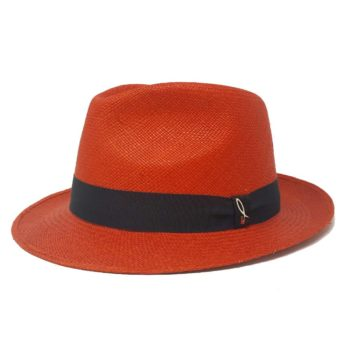 Narrow Brim Drop Panama Hat Doria 1905