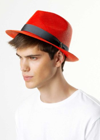 Drop Panama Hat for Man