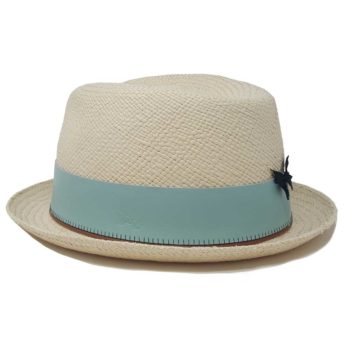 Finch Drop Panama Hat White
