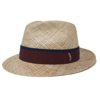 Joshi Fedora Hat Bao Straw Natural Doria 1905
