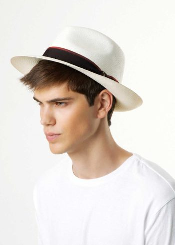 Portofino Panama Hat White for Man