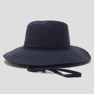Cappello Drop in Tessuto Impermeabile con Cinta in Rete Tecnica Modello Ariel