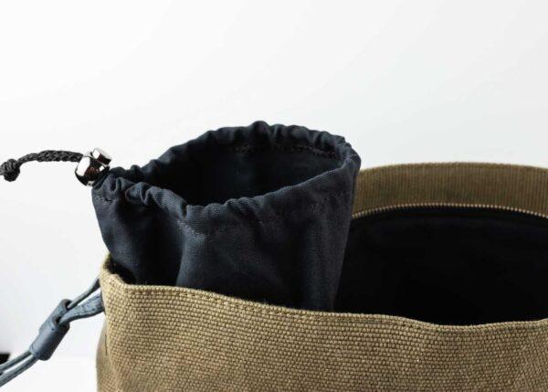 Heva Shopper Porta Cappello Coriandolo Verde Blu Oceano