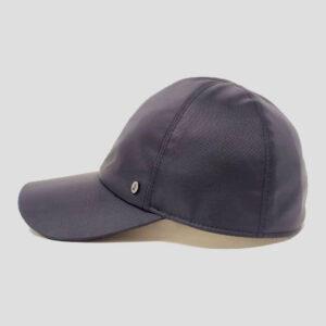 Baseball Cap Skinny in Tessuto Impermeabile con Visiera in Rete Tecnica Modello Mistral