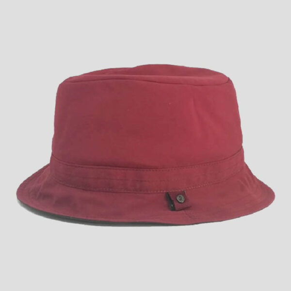 Cappello Bucket in Tessuto Reversibile