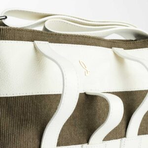 Hevette Mini Shopper Porta Cappello Coriandolo Latte