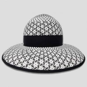 Cappello Bianco Arrotolabile da Donna