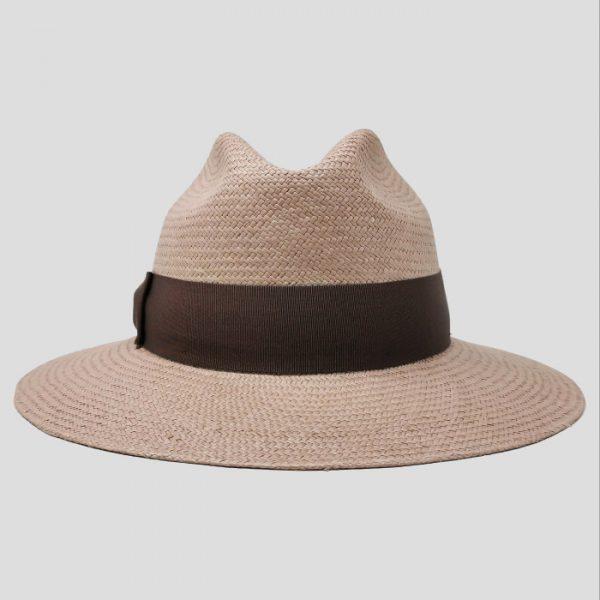 Cappello di Paglia da donna Rosa Cipria