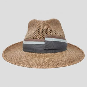 Cappello Drop in Panama Brisa Marrone