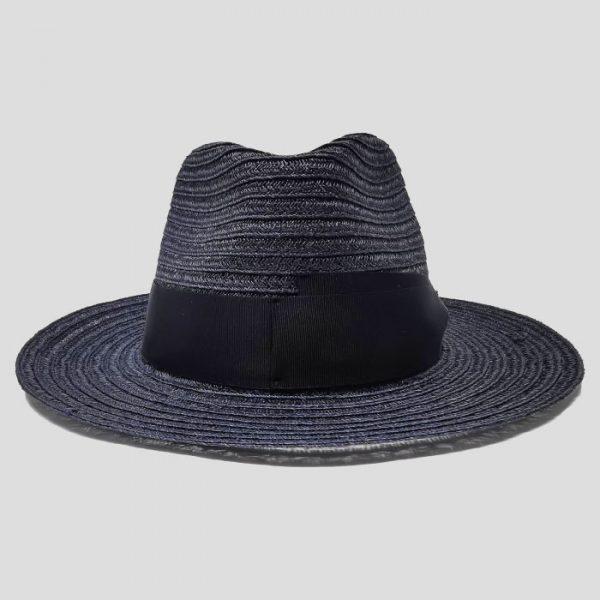 Cappello in Fibra di Canapa Blu