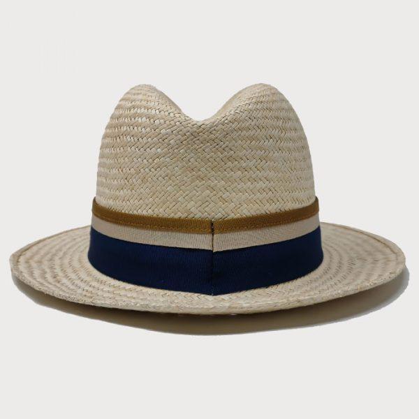 Cappello Paglia orientale cinta tricolore