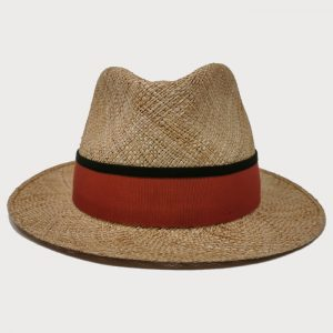 Cappello di Paglia leggera cinta rossa