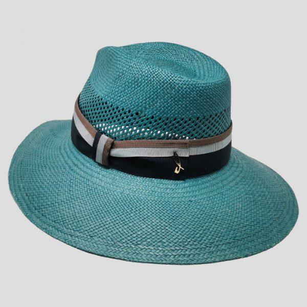 Cappello di Paglia Celeste
