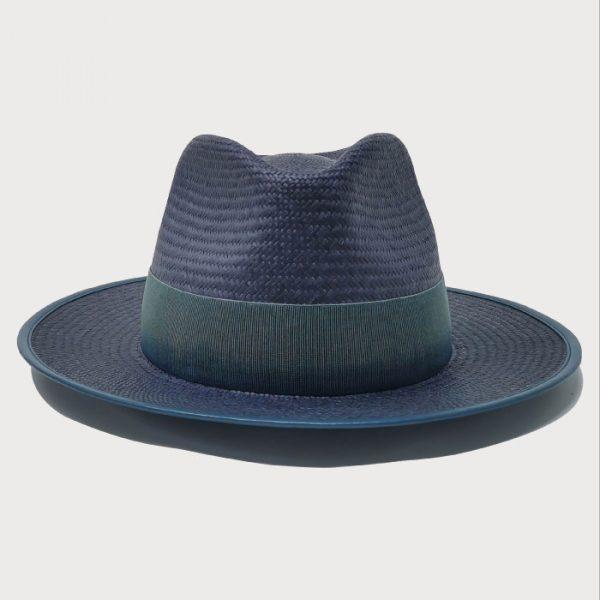 Cappello Panama Blu