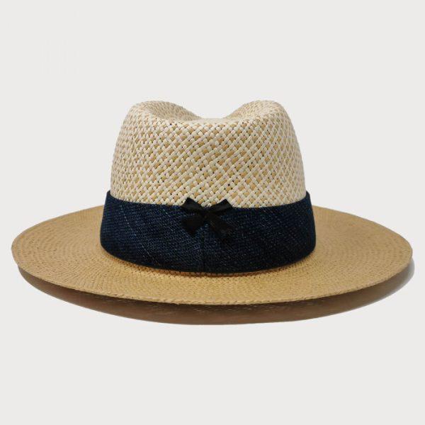 Cappello Papier con Cinta
