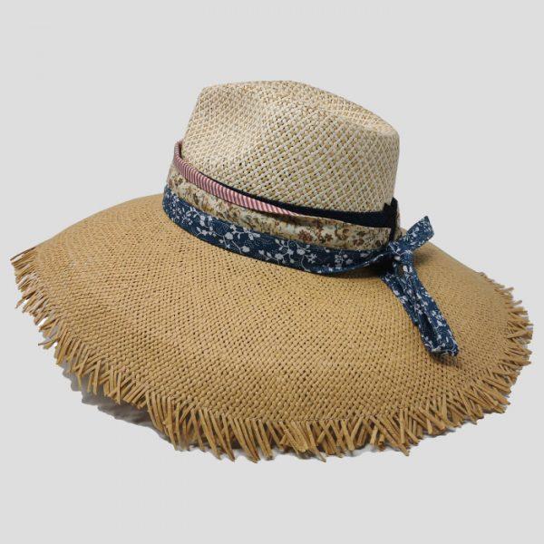 Cappello Papier ala larga da Donna