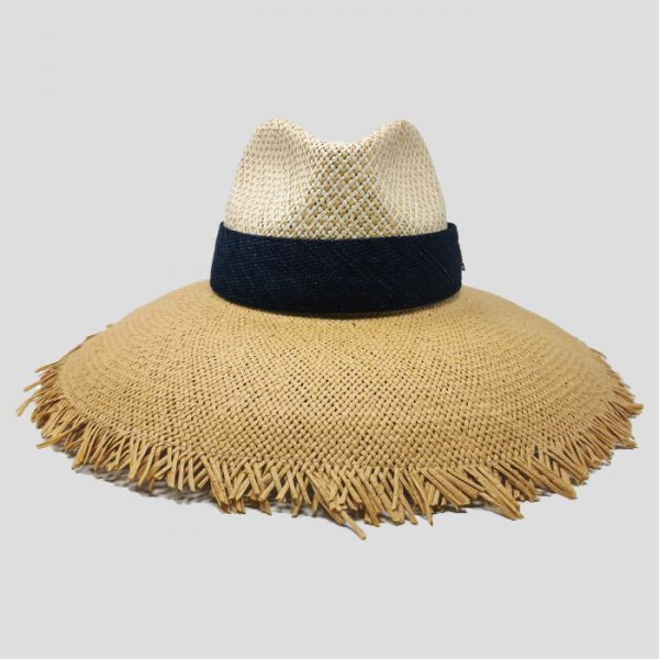 Cappello di Paglia naturale da donna