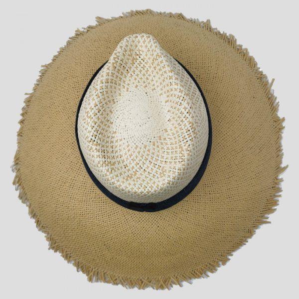 Cappellina di paglia da donna