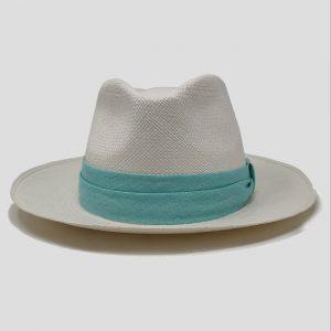 Cappello estivo cinta azzurra
