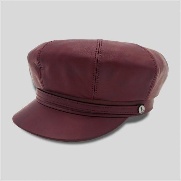berretto da marinaio in pelle modello Sailor