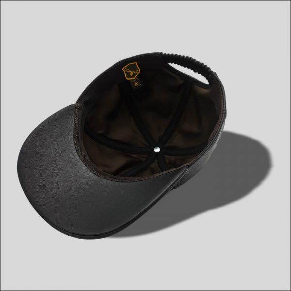 cappello con visiera nero modello tender