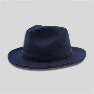 cappello drop in tessuto di lana e cashmere