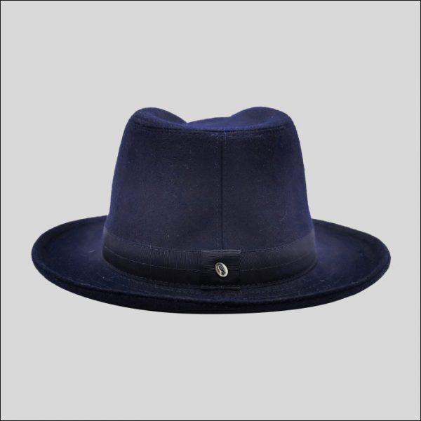 retro cappello drop con spilla doria 1905