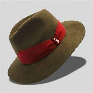 Cappello Drop in Feltro di Lana Modello Jigen
