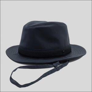 Cappello drop in tessuto impermeabile modello Zefiro
