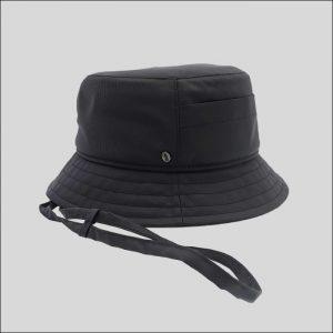 Cappello Bucket in Tessuto Impermeabile con Membrana Modello Boris
