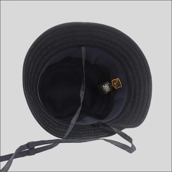Cappello Bucket con Sottoala in Rete Tecnica