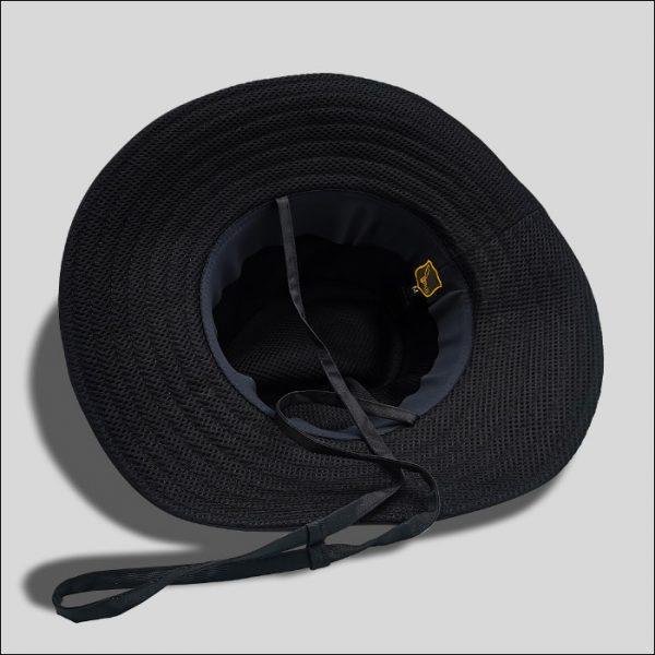 Cappello con Membrana Interna Tessuto Impermeabile Nero