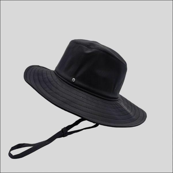 Cappello Drop Ala Larga Tessuto Impermeabile Modello Ariel