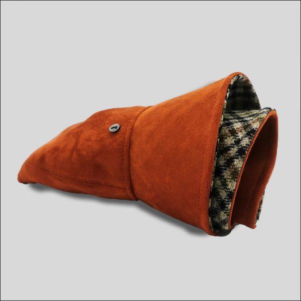 Cloche cappello arrotolato in tessuto