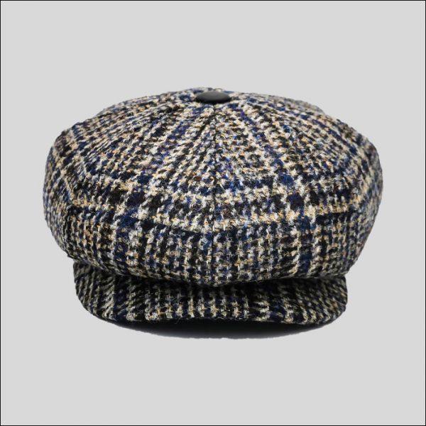 Newsboy Cap in tessuto tweed
