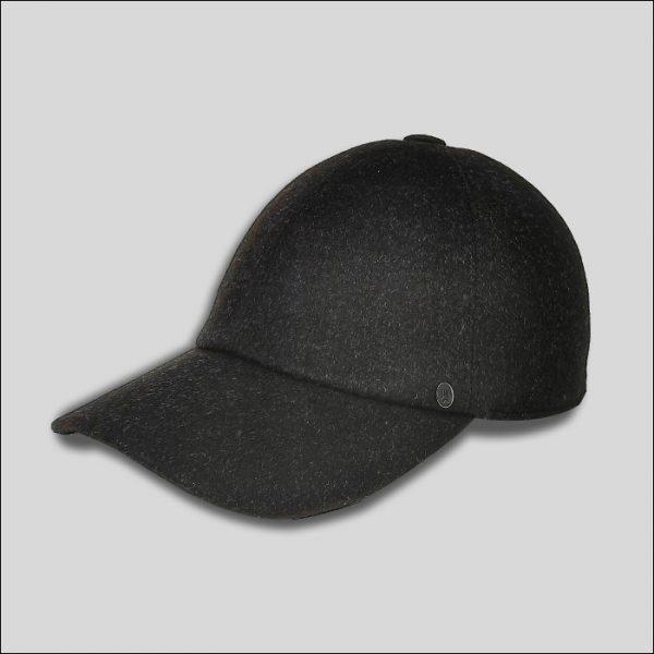 skinny baseball cap in tessuto con elastico modello Billy