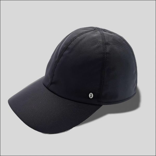 Cappello da Baseball Skinny Nero modello Mistral