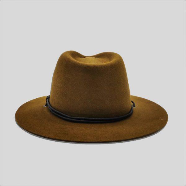 Cappello Texano Marrone