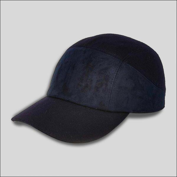 Baseball Cap in Tessuto Blu modello Dakota