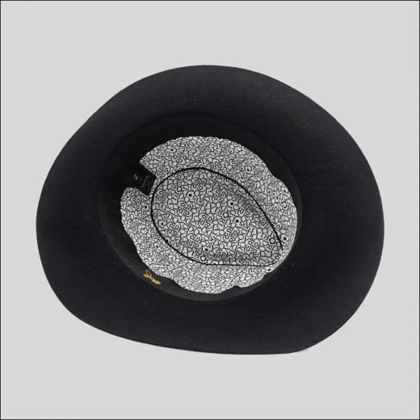 Interno Cappello Doria con Fodera logo TOODORIA
