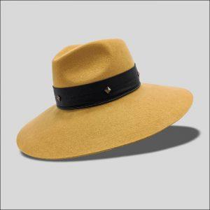 Cappello Fedora ad Ala Larghissima modello Trocadero